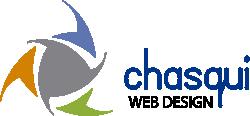 Chasqui web design & social media manager Logo
